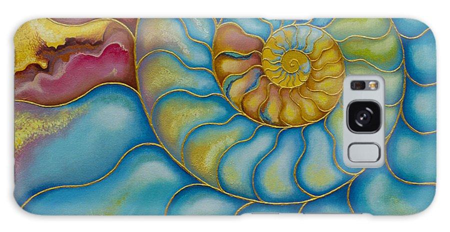 Sea Galaxy S8 Case featuring the painting Eternity by Yuliya Glavnaya