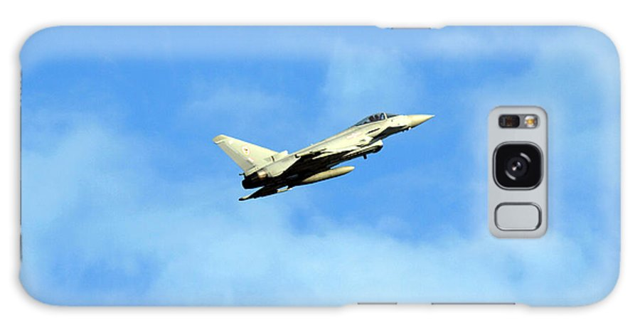 Euro-fighter Prints Galaxy S8 Case featuring the photograph Eurofighter Typhoon by Sharon Lisa Clarke