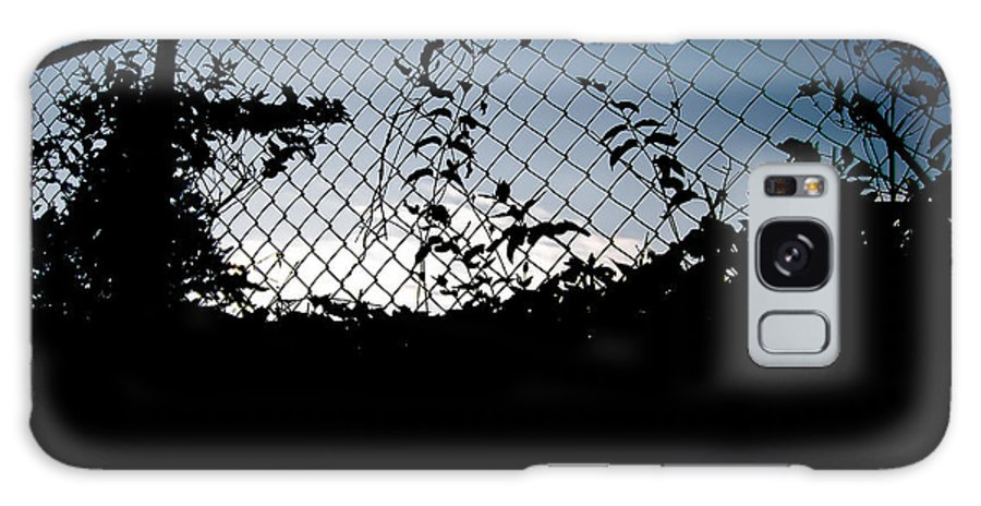 Galaxy S8 Case featuring the photograph Evening Fence by Becky Anders
