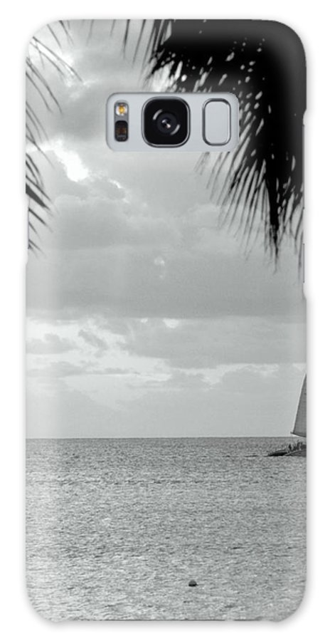 Beach Galaxy S8 Case featuring the photograph Evening Sail In Paradise by Caroline Stella