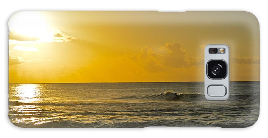 Surf Galaxy S8 Case featuring the photograph Evening Surf by Brandon Bourne