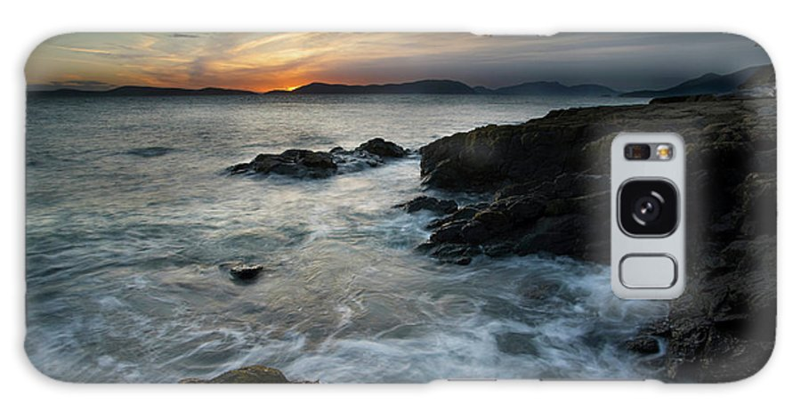 Sunset Galaxy S8 Case featuring the photograph Evening Turmoil by Mike Reid