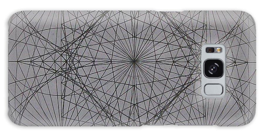 Event Horizon Galaxy Case featuring the digital art Event Horizon by Jason Padgett