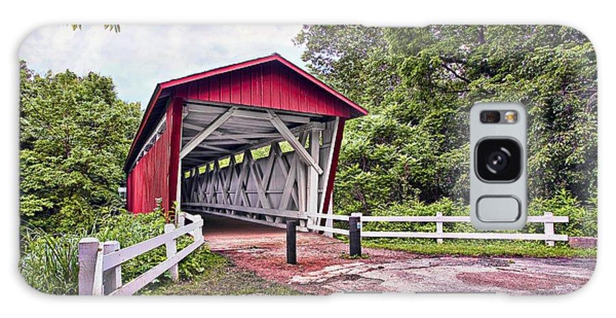 Landscape Galaxy S8 Case featuring the photograph Everett Bridge by Marcia Colelli