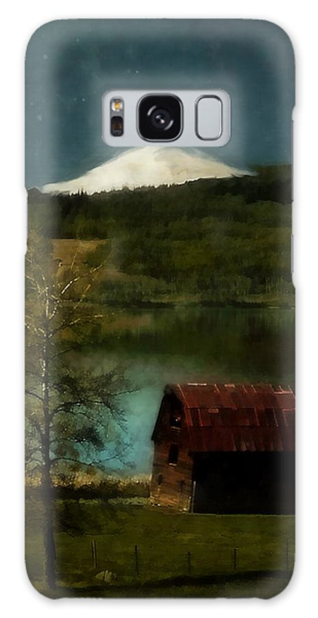 Landscape Galaxy S8 Case featuring the painting Excellence And Peace by RC DeWinter