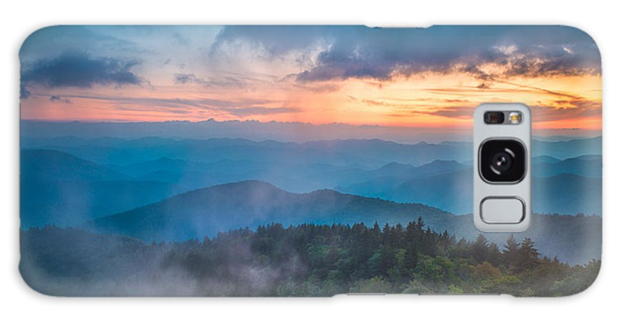 Asheville Galaxy S8 Case featuring the photograph Exhale by Joye Ardyn Durham