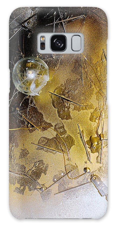 Light Galaxy S8 Case featuring the mixed media Exploded Expectation by Julia Wang