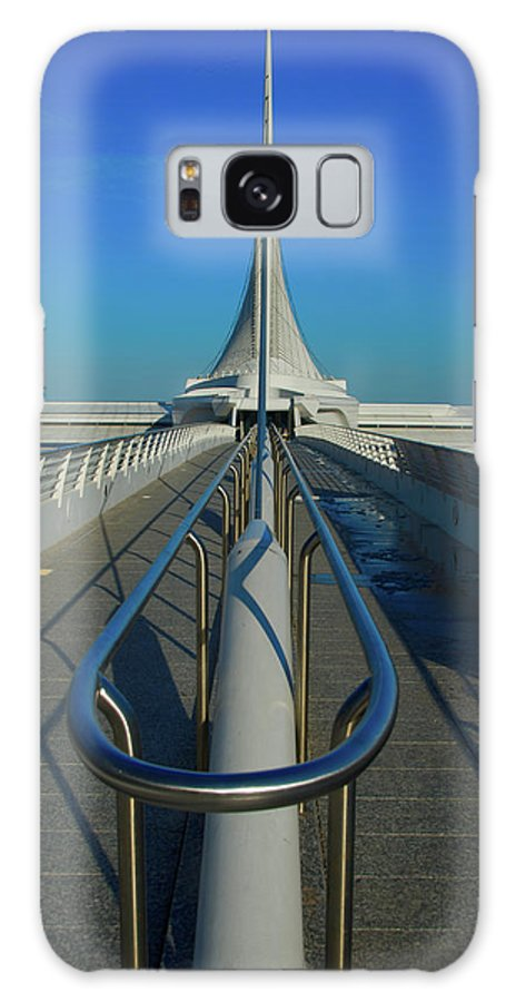 Calatrava Santiago Galaxy S8 Case featuring the photograph Eye Of The Beholder by Jonah Anderson