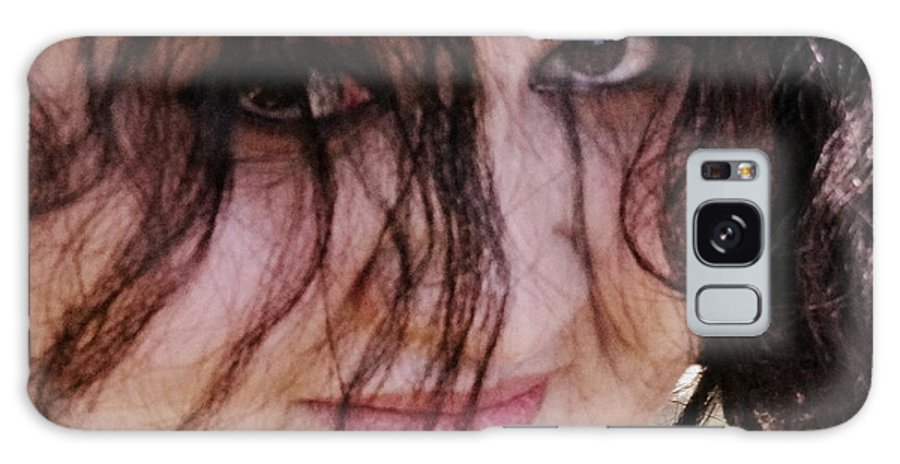 Eye Image Galaxy S8 Case featuring the photograph Eyes . . .the Window by Ernestine Manowarda