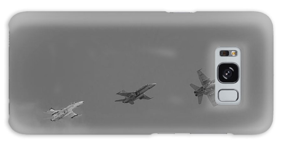 F 18 Hornets Galaxy S8 Case featuring the photograph F 18 Hornets by Susan McMenamin