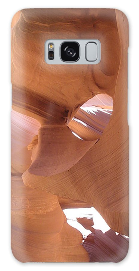 Narrow Canyon Galaxy S8 Case featuring the photograph Face In The Stone by Christiane Schulze Art And Photography