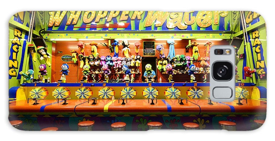 Whopper Water Galaxy S8 Case featuring the photograph Fairground Fun Sideshow 2 by Bob Christopher