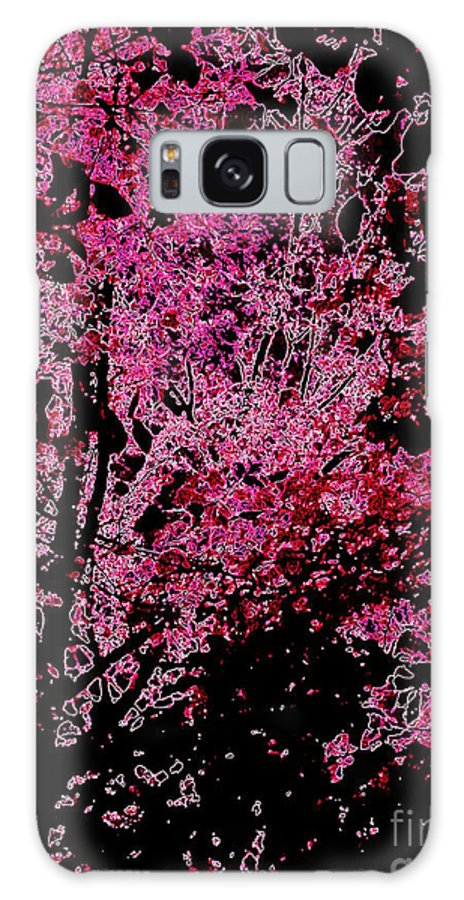 Abstract Galaxy S8 Case featuring the photograph Fall Abstract by John Potts