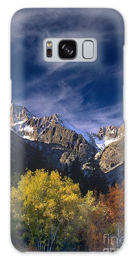 California Galaxy S8 Case featuring the photograph Fall Color Below Middle Palisades Glacier Eastern Sierras California by Dave Welling