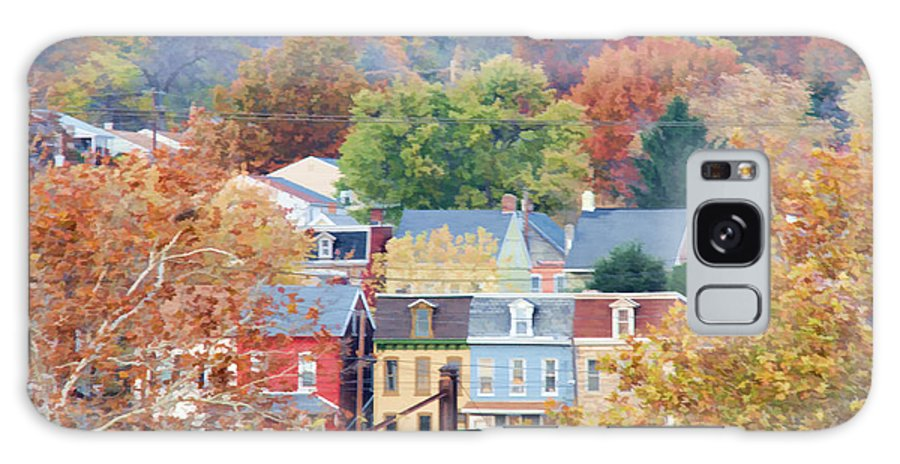 Columbia Galaxy S8 Case featuring the photograph Fall Colors In Columbia Pennsylvania by Beth Sawickie