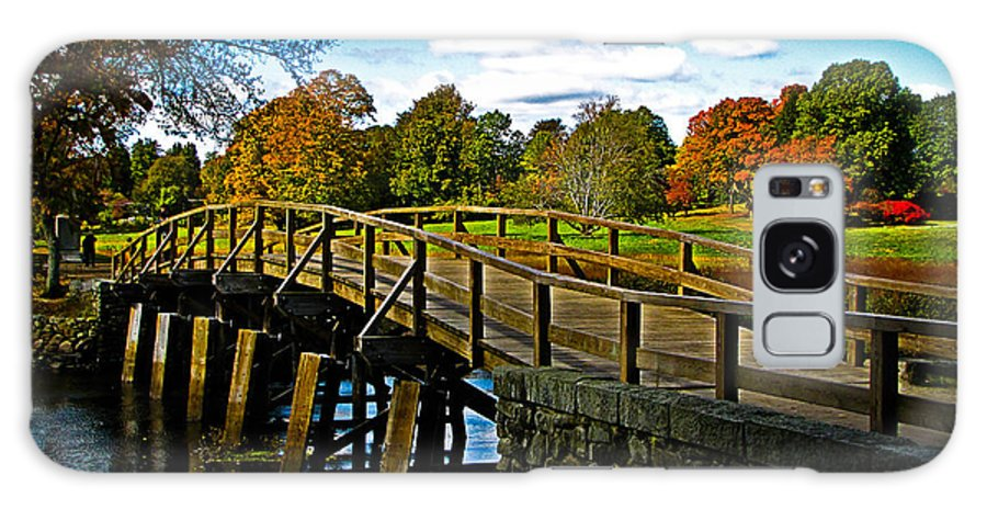 Fall Galaxy S8 Case featuring the photograph Fall In Massachusetts by Charlene Gauld