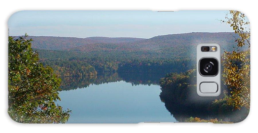 Lake Galaxy S8 Case featuring the photograph Fall Lake by Nancie Johnson