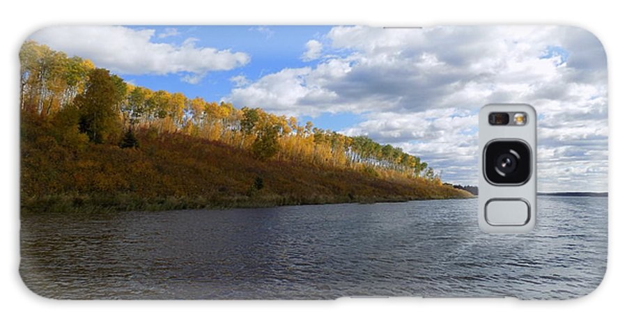 Fall Scenes Galaxy S8 Case featuring the photograph Fall On The Lake by Penny Homontowski