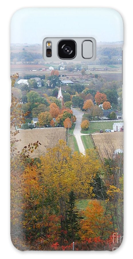 Nature Galaxy S8 Case featuring the photograph Fall Overlook by Minding My Visions by Adri and Ray
