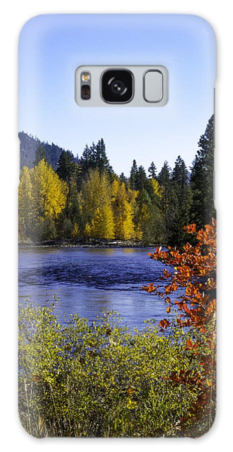 River Galaxy S8 Case featuring the photograph Fall River by JoJo Photography