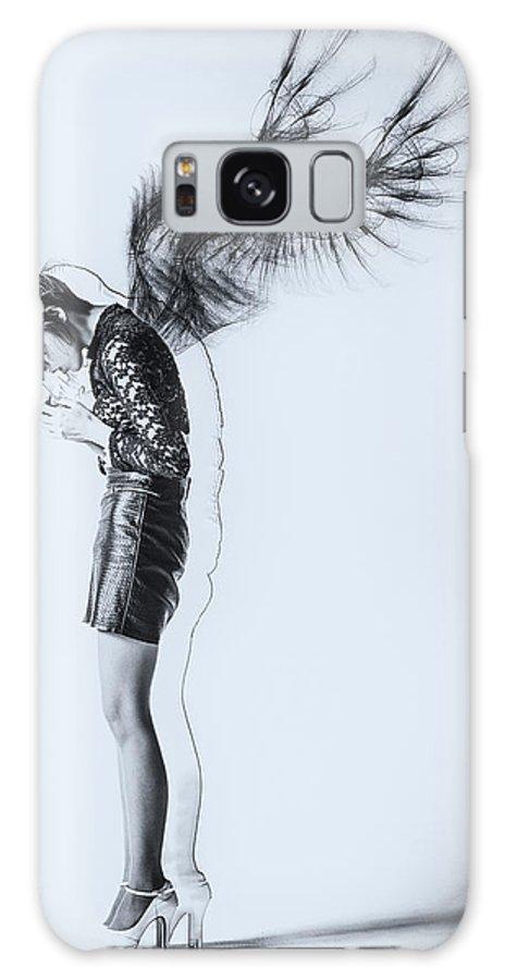 Portrait Galaxy S8 Case featuring the photograph Fallen Angel by Daisuke Kiyota