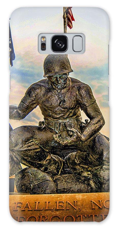 Fallen Soldier Galaxy S8 Case featuring the photograph Fallen Not Forgotten by Jon Cody
