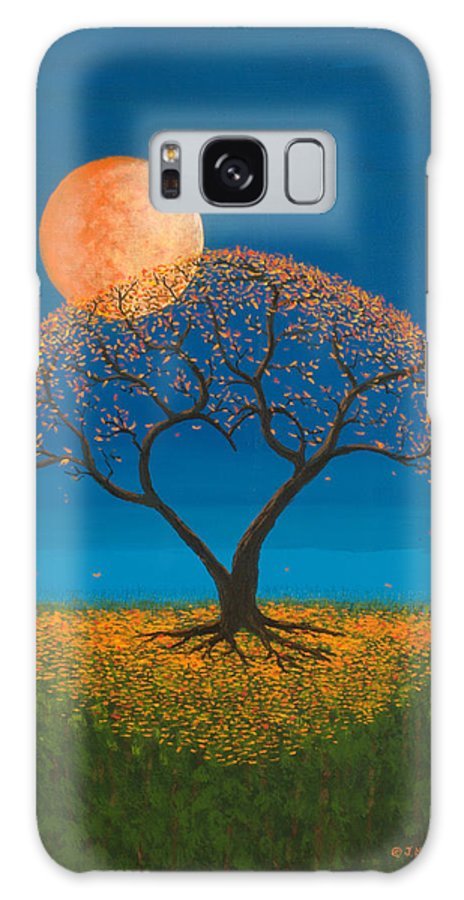 Love Galaxy Case featuring the painting Falling For You by Jerry McElroy