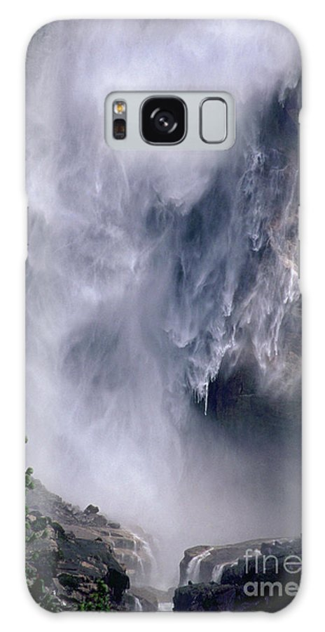 Waterfall Galaxy Case featuring the photograph Falling Water by Kathy McClure
