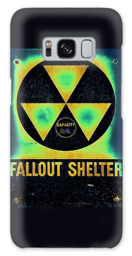 Fallout Galaxy S8 Case featuring the photograph Fallout Shelter Abstract 2 by Stephen Stookey