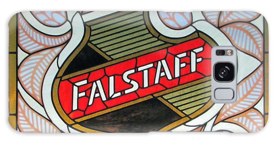 Falstaff Galaxy S8 Case featuring the photograph Falstaff Window by C H Apperson