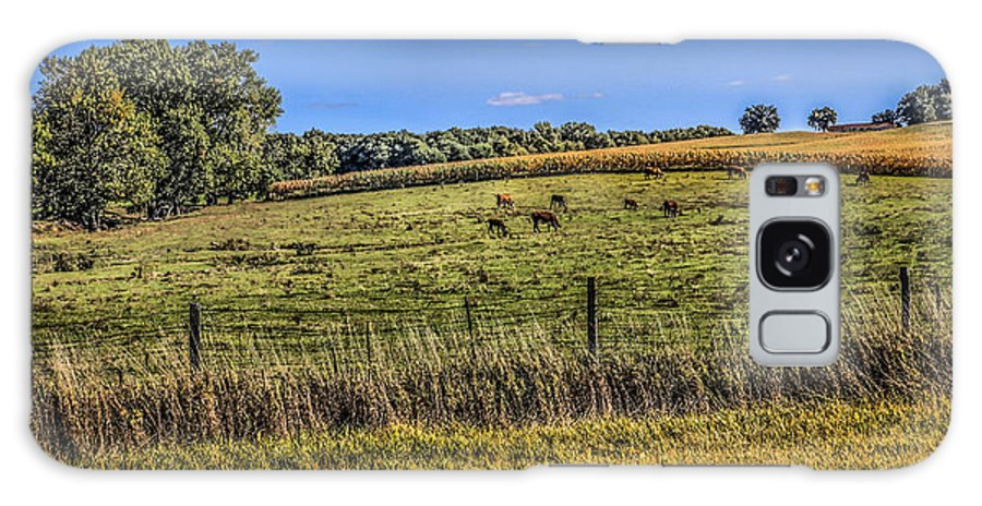 Farming Galaxy S8 Case featuring the photograph Farm Field by Ray Congrove