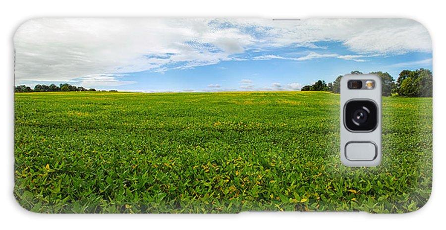 Farm Galaxy S8 Case featuring the photograph Farm Land by Mary Smyth