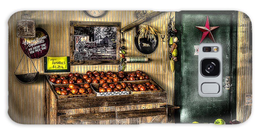 Apples Galaxy S8 Case featuring the photograph Farmer's Market by David Morefield
