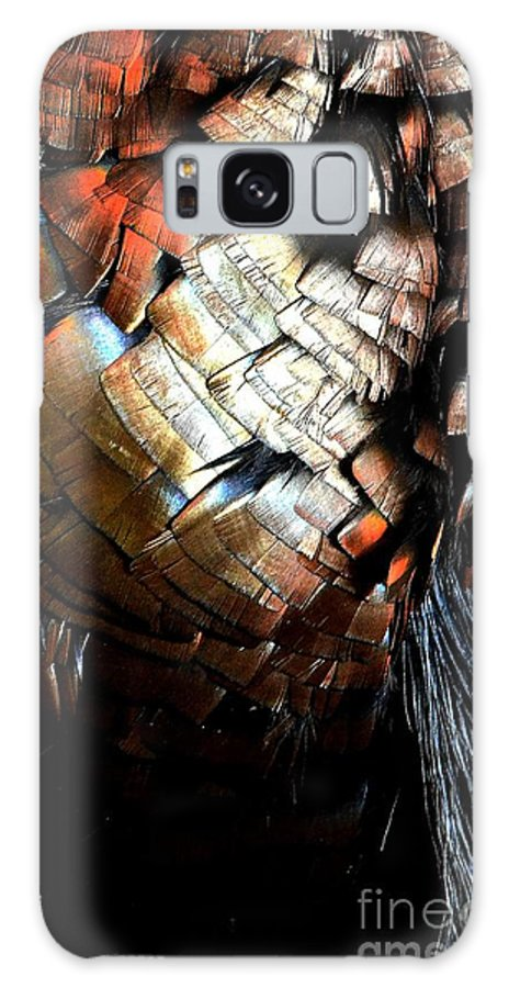 Newel Hunter Galaxy S8 Case featuring the photograph Feathered Abstract 2 by Newel Hunter