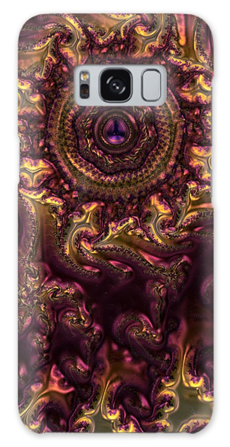 Abstracts. Abstract Galaxy S8 Case featuring the digital art February Jewel by Ranadeep