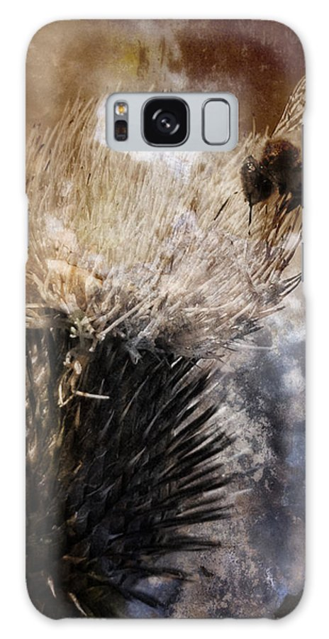 Bee Galaxy S8 Case featuring the photograph Feeding by Claire Hull