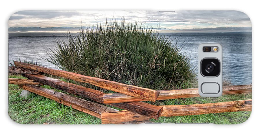 British Columbia Galaxy S8 Case featuring the photograph Fenced Grass by James Wheeler