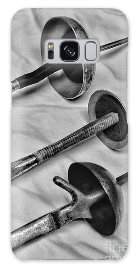 Paul Ward Galaxy S8 Case featuring the photograph Fencing - Fencing Swords by Paul Ward