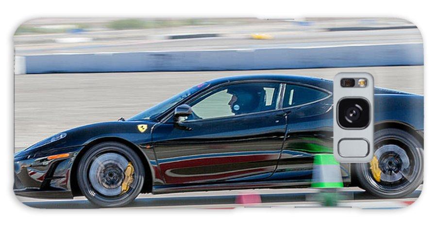 Ferrari Galaxy S8 Case featuring the photograph Ferrari Racing by Martin Brassard