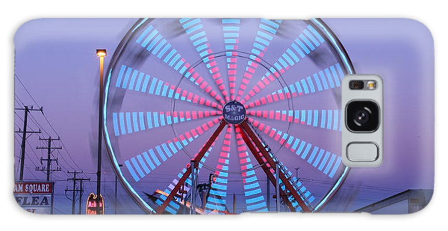 Ferris Wheel Galaxy S8 Case featuring the photograph Ferris At Dusk by Shawn MacMeekin