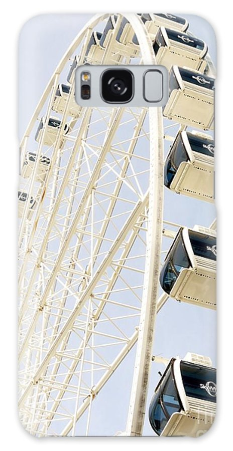 Ferris Wheel Galaxy S8 Case featuring the photograph Ferris Wheel by Spyglass Galleries - Captain Layne