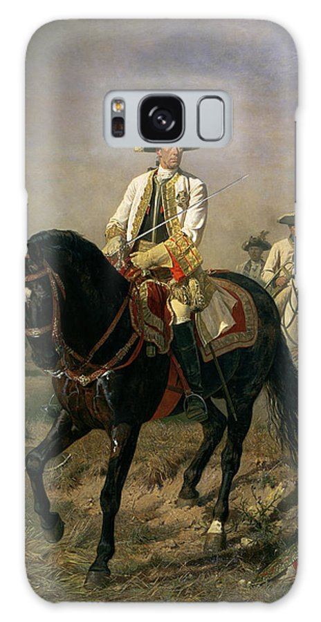 Male Galaxy S8 Case featuring the photograph Field Marshal Baron Ernst Von Laudon 1717-90, General In The Seven Years War And War Of Bavarian by Siegmund L'Allemand