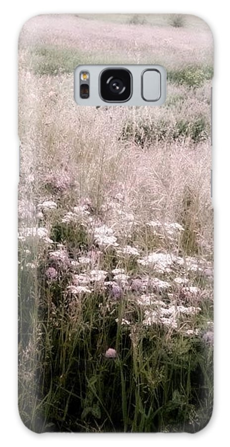 Scenery Galaxy S8 Case featuring the photograph Fields Of Pink by Judith Butler