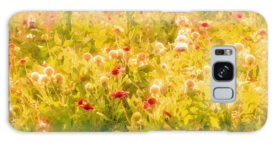 Wildflowers Galaxy S8 Case featuring the photograph Fiesta by Debbie Summers