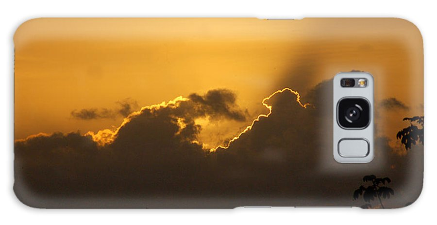 Clouds Galaxy S8 Case featuring the photograph Fighting Clouds by Anton Diloz