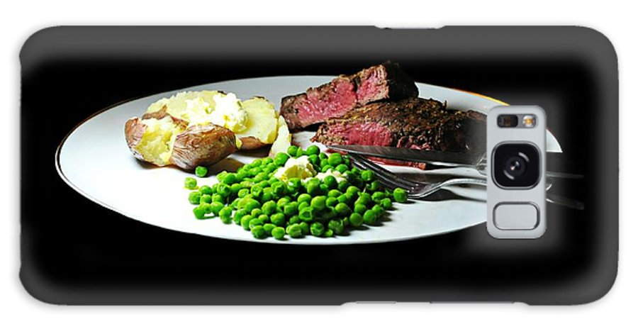 Dinner Galaxy S8 Case featuring the photograph Filet Mignon by Diana Angstadt