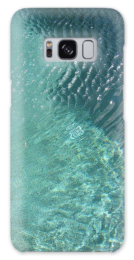 Film Noir Delusion 1998 2 Swimming Pool Arizona City Arizona 2005 Galaxy S8 Case featuring the photograph Film Noir Delusion 1998 1 Swimming Pool Arizona City Arizona 2005 by David Lee Guss