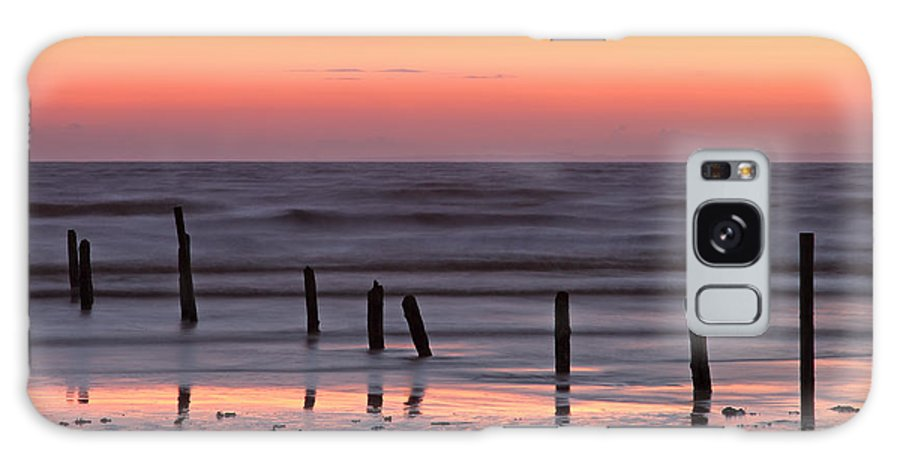 Somerset Galaxy S8 Case featuring the photograph Fine Art Sunset Somerset England by Ollie Taylor
