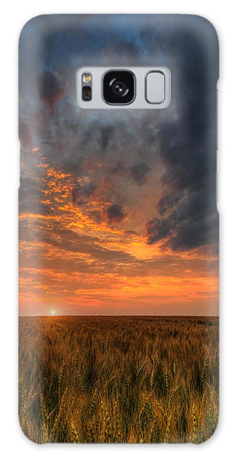 Fire In The Sky Galaxy S8 Case featuring the photograph Fire In The Sky by Nebojsa Novakovic