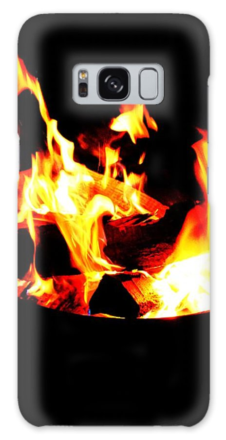 Camp Galaxy S8 Case featuring the photograph Fire Pit by Christopher Hoffman